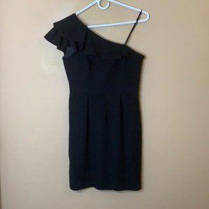 COPY - NWT Max & Cleo one shoulder ruffle dress